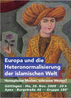 Homophober Moslem, toleranter Westen?